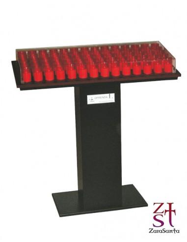 LAMPADARIO METAL CON LED