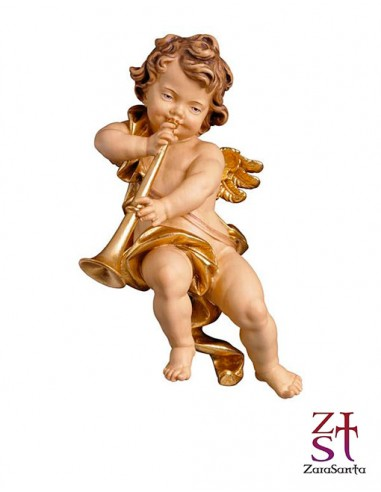 ANGEL DE MADERA PARA COLGAR 03